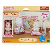 Calico Critters Calico Critters Main Street Dressing Area Set