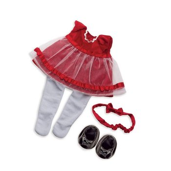 Manhattan Toy Baby Stella Outfit Holiday Dress disc