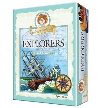 Outset Media Professor Noggin's Trivia Game: Explorers