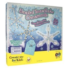 Creativity for Kids Creativity for Kids Beaded Snowflake
