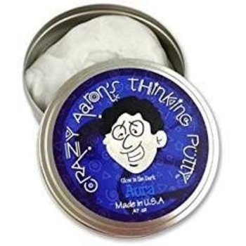 Crazy Aaron Crazy Aaron's Thinking Putty Glow in the Dark Aura Small