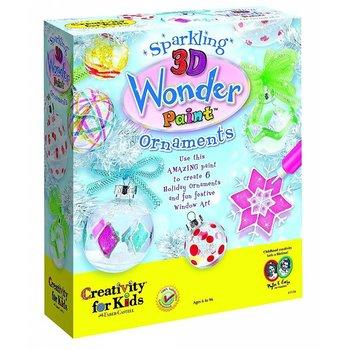 Creativity for Kids 3D Wonder Paint Ornaments