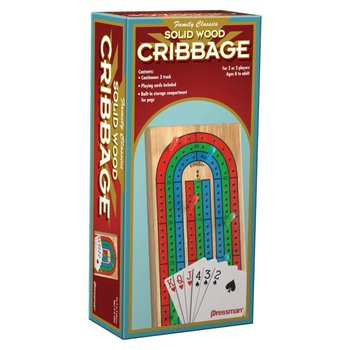 Pressman Game: Cribbage with Cards