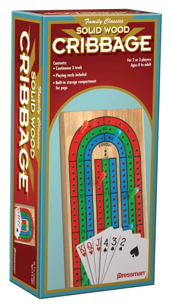 Pressman Game Cribbage With Cards Minds Alive Toys Crafts Books