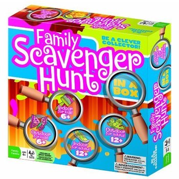 Outset Media Outset Game Family Scavenger Hunt