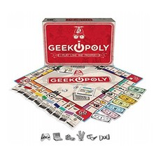 Outset Game Geek-Opoly
