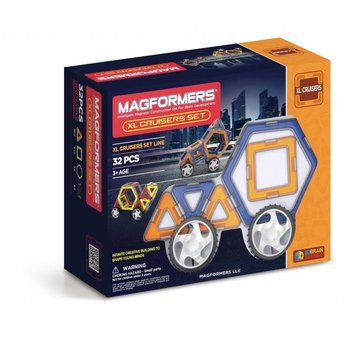 Magformers Magformers Magnetic Construction Set XL Cruisers