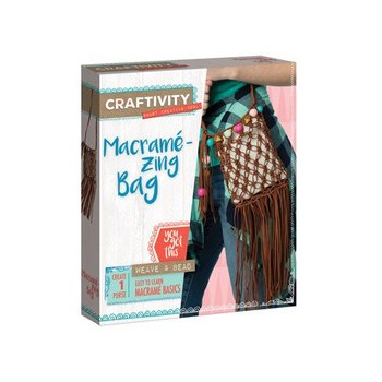 Creativity for Kids Craftivity Macrame Zing Bag