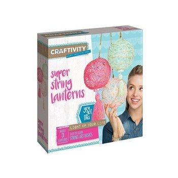 Creativity for Kids Craftivity Super String Lanterns