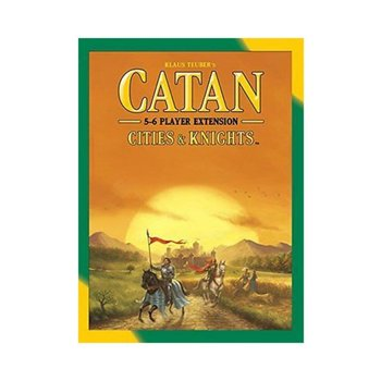 Mayfair Catan Game 5-6 Player Expansion: Cities & Knights