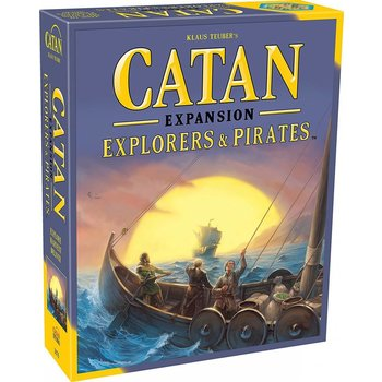 Catan Game Expansion: Pirates & Explorers