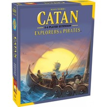 Mayfair Catan Game 5-6 Player Extension: Pirates & Explorers