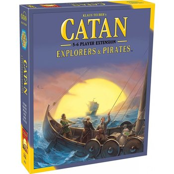 Mayfair Catan Game 5-6 Player Extension: Pirates & Explorers