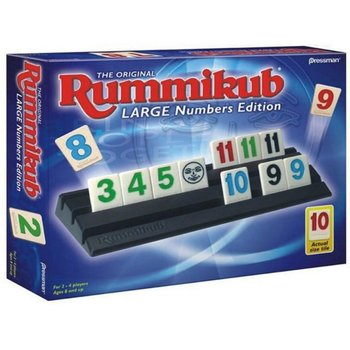 Pressman Game Rummikub Large Numbers