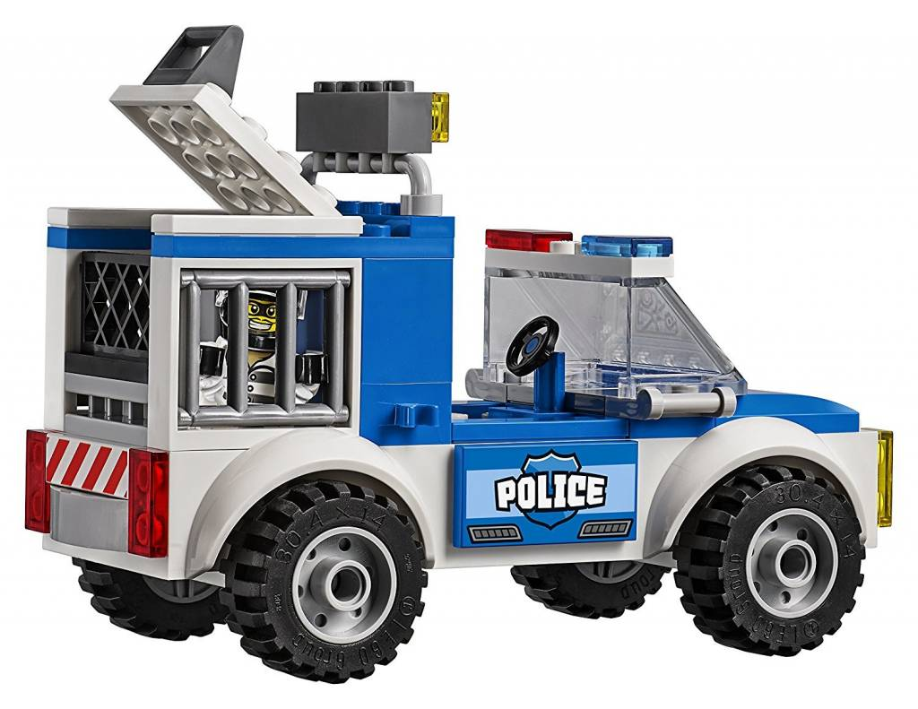 lego juniors police truck chase minds alive toys crafts books