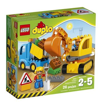 Lego Lego Duplo Town Truck & Tracked Excavator