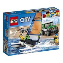 Lego City 4x4 with Catamaran