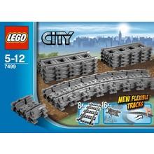 Lego Lego City Train Tracks Flexible