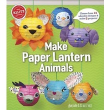 Klutz Klutz Book Make Paper Lantern Animals