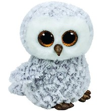 Ty Ty Beanie Boo Large Owlette White