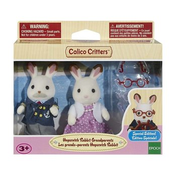 Calico Critters Calico Critters Set Hopscotch Rabbit Grandparents