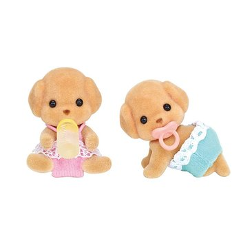Calico Critters Calico Critters Twins Toy Poodle