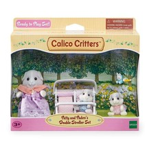 Calico Critters Calico Critter Set  Patty & Paden's Double Stroller