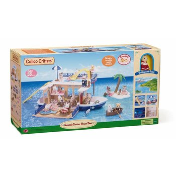 Calico Critters Calico Critter Seaside Cruiser Houseboat