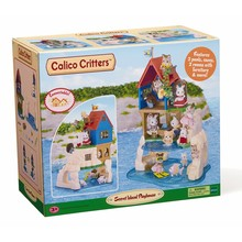 Calico Critters Calico Critters Seaside Secret Island Playhouse