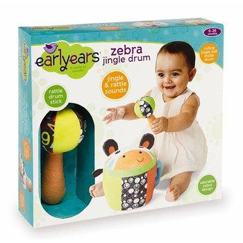 Earlyears Earlyears Baby Zebra Jingle Drum