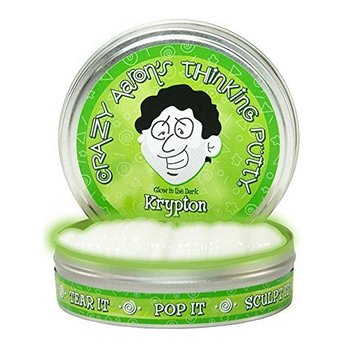 Crazy Aaron Crazy Aaron's Thinking Putty Glow in the Dark Krypton