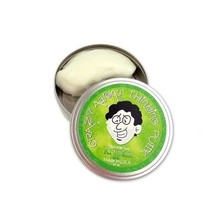 Crazy Aaron Crazy Aaron's Thinking Putty Glow in the Dark Krypton Small