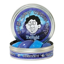 Crazy Aaron Crazy Aaron's Thinking Putty Heat Sensitive Twilight