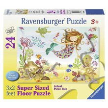 Ravensburger Ravensburber Floor Puzzle 24pc Junior Mermaid
