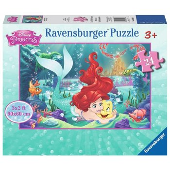 Ravensburger Ravensburger Floor Puzzle 24pc Hugging Arielle