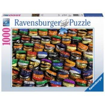 Ravensburger Ravensburger Puzzle 1000pc Bottlecap Hills