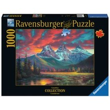 Ravensburger Ravensburger Puzzle 1000pc Canadian Alberta's Sisters