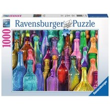 Ravensburger Ravensburger Puzzle 1000pc Colorful Bottles