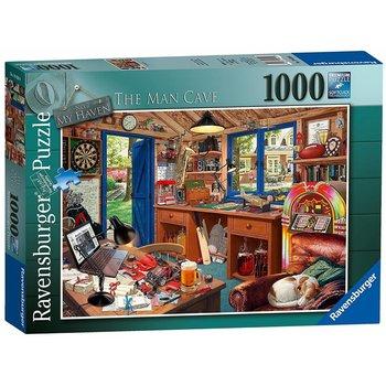 Ravensburger Ravensburger Puzzle 1000pc The Man Cave