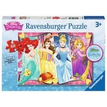 Ravensburger Ravensburger Puzzle 60pc Glitter Heartsong