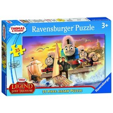 Ravensburger Ravensburger Puzzle 35pc Thomas Sodor's Lost Treasure