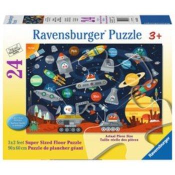 Ravensburger Ravensburger Floor Puzzle 24pc Space Aliens