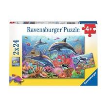 Ravensburger Ravensburger Puzzle 2x24pc Underwater Beauty
