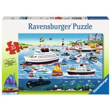 Ravensburger Ravensburger Puzzle 35pc Happy Harbour