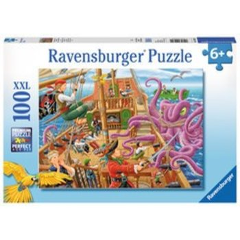 Ravensburger Ravensburger Puzzle 100pc Pirate Boat Adventure