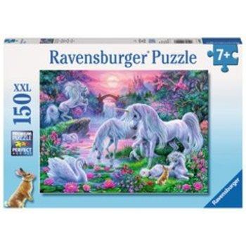 Ravensburger Ravensburger Puzzle 150pc Unicorns in the Sunset Glow