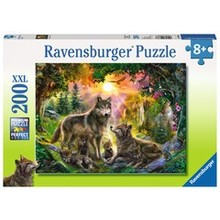 Ravensburger Ravensburger Puzzle 200pc Wolf Family in the Sun
