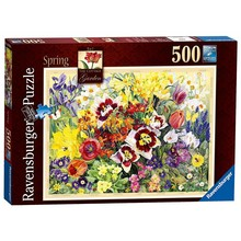 Ravensburger Ravensburger Puzzle 500pc The Cottage Garden Spring