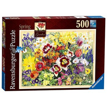 Ravensburger Ravensburger Puzzle 500pc The Cottage Garden Spring