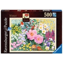 Ravensburger Ravensburger Puzzle 500pc The Cottage Garden Winter